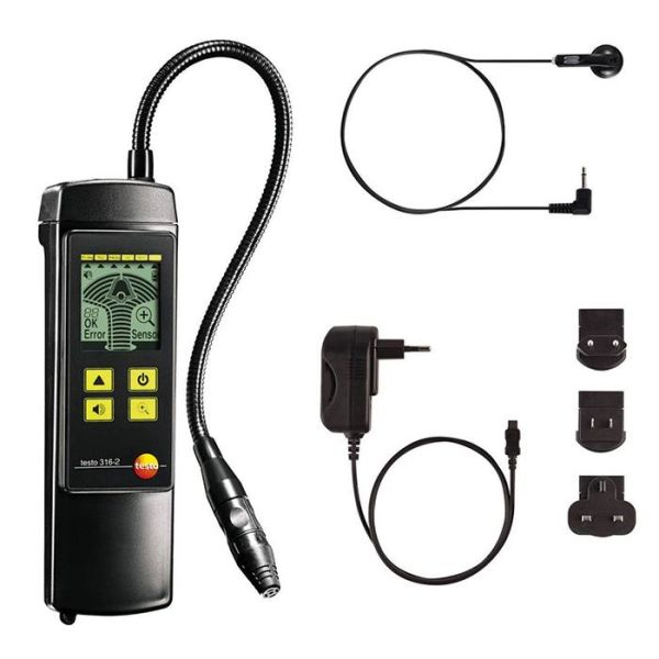 Testo 316-2 Gassmåler for metan, propan, hydrogen