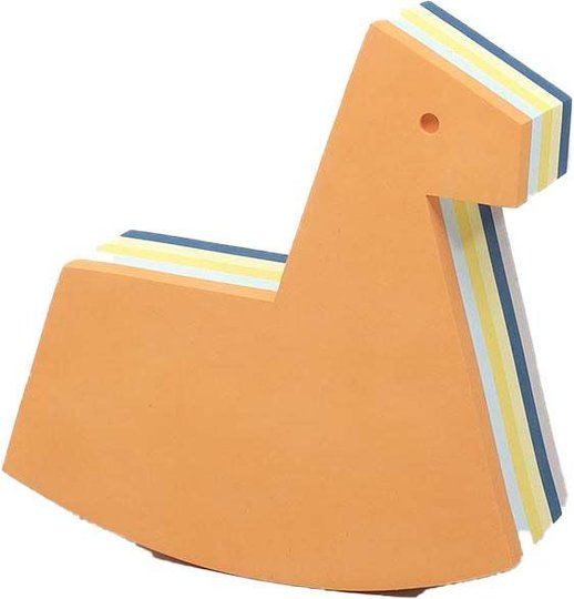 bObles Pippi Langstrømpe Hest Liten, Oransje