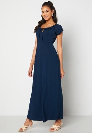 Happy Holly Tessie maxi dress Dark blue 44/46S