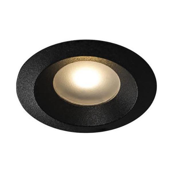 Hide-a-Lite Core Smart Mini downlight -valaisin 1,2W, 120°, musta 2700K