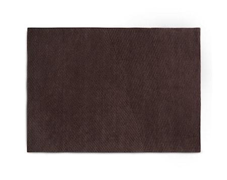Row Matta Medium Mörkbrun