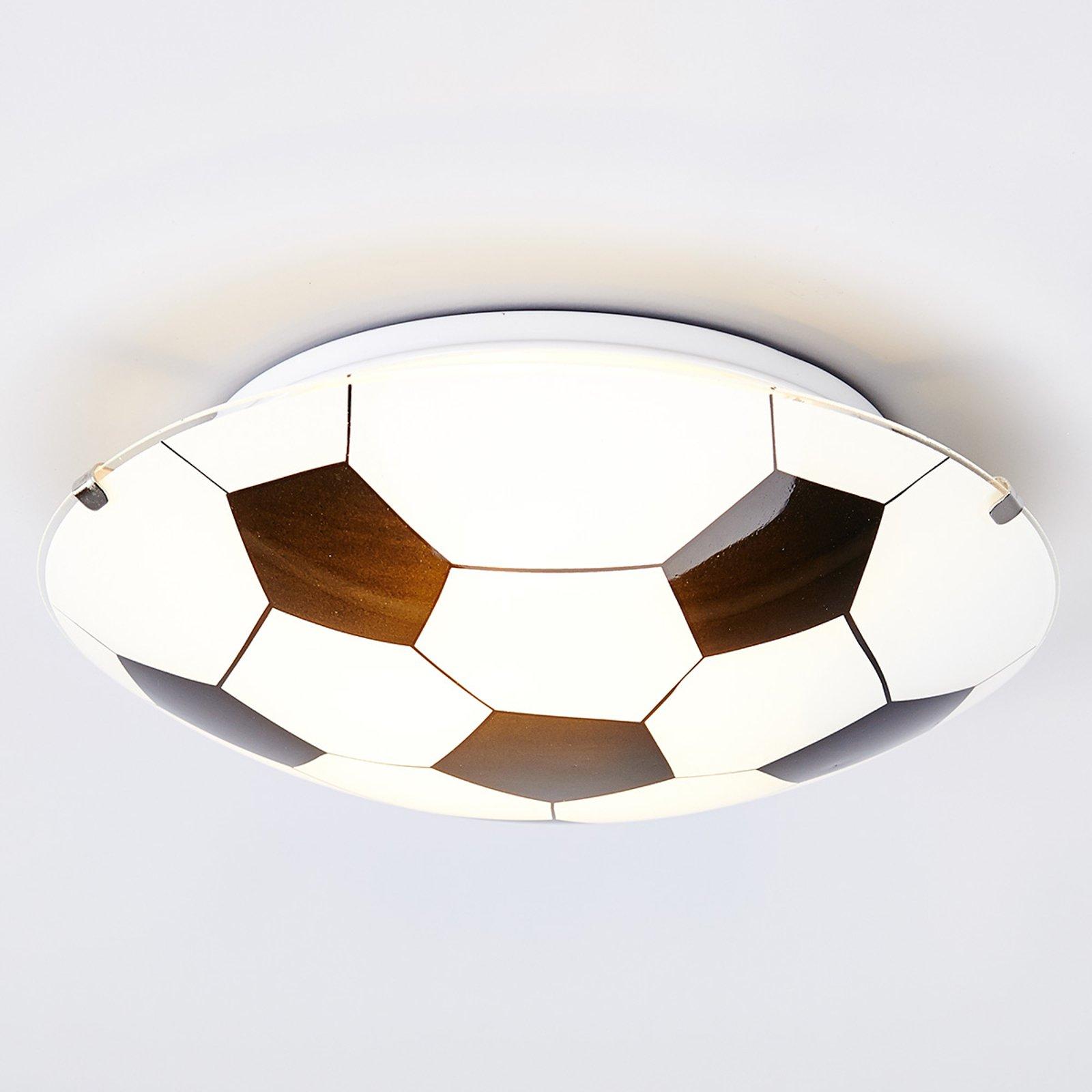 Den svarthvite taklampen Fotball