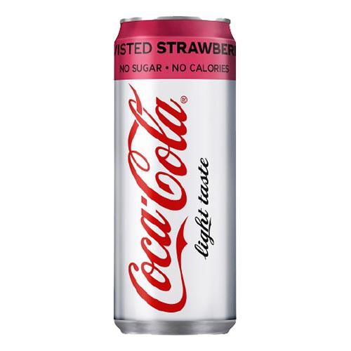 Coca-Cola Light Strawberry - 1-pack