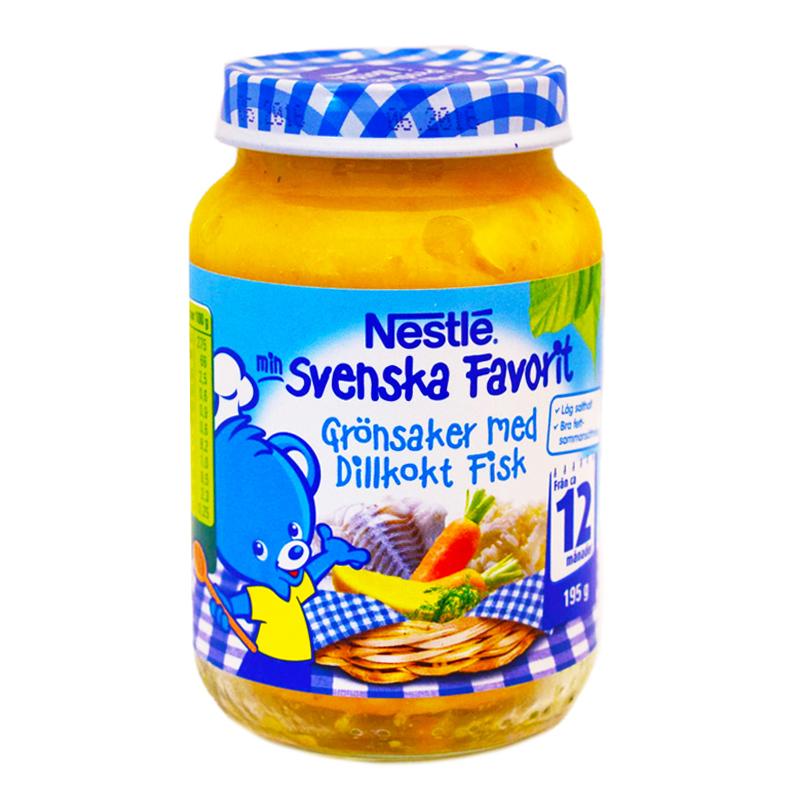 Barnmat Grönsaker & Dillkokt Fisk 195g - 19% rabatt