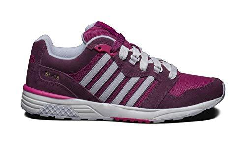 K-Swiss Men's SI 18 Rannell Trainers Various Colours 885938895269 - 4.5 UK Purple