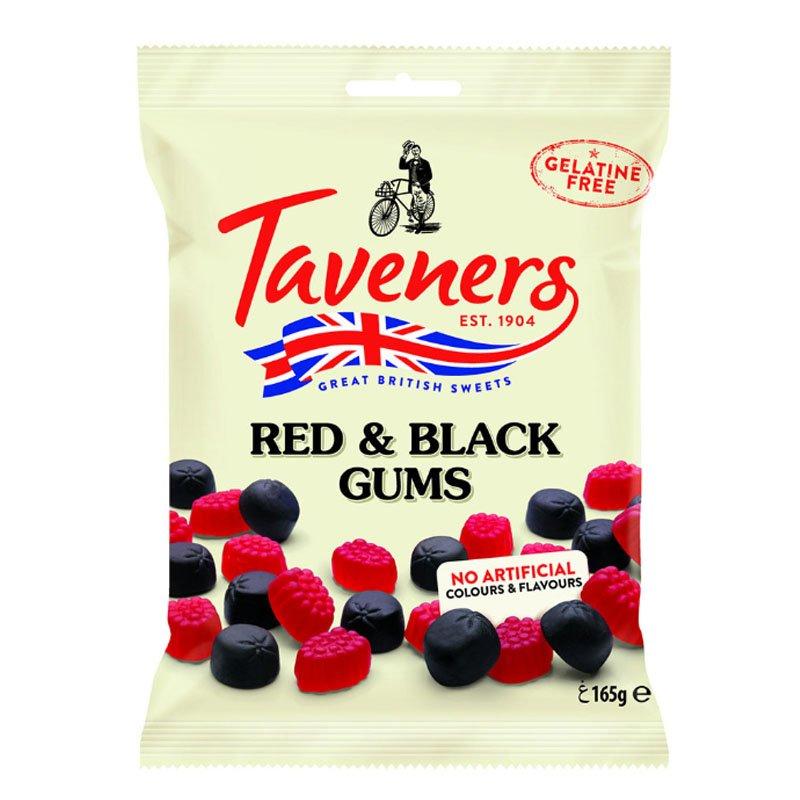 "Godis ""Red & Black Gums"" 165g - 22% rabatt"