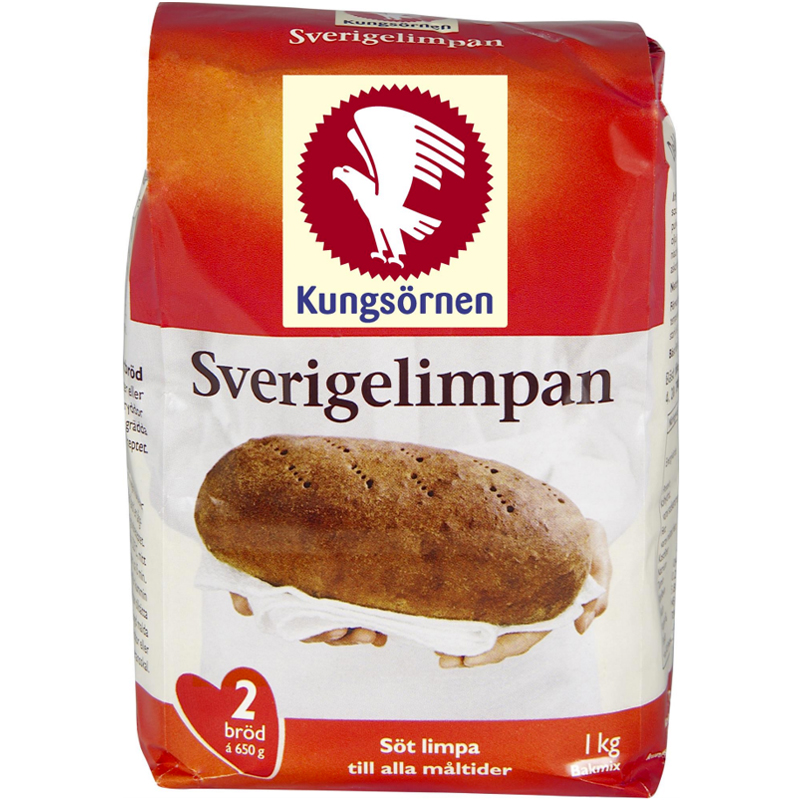"Brödmix ""Sverigelimpan"" 1kg - 50% rabatt"