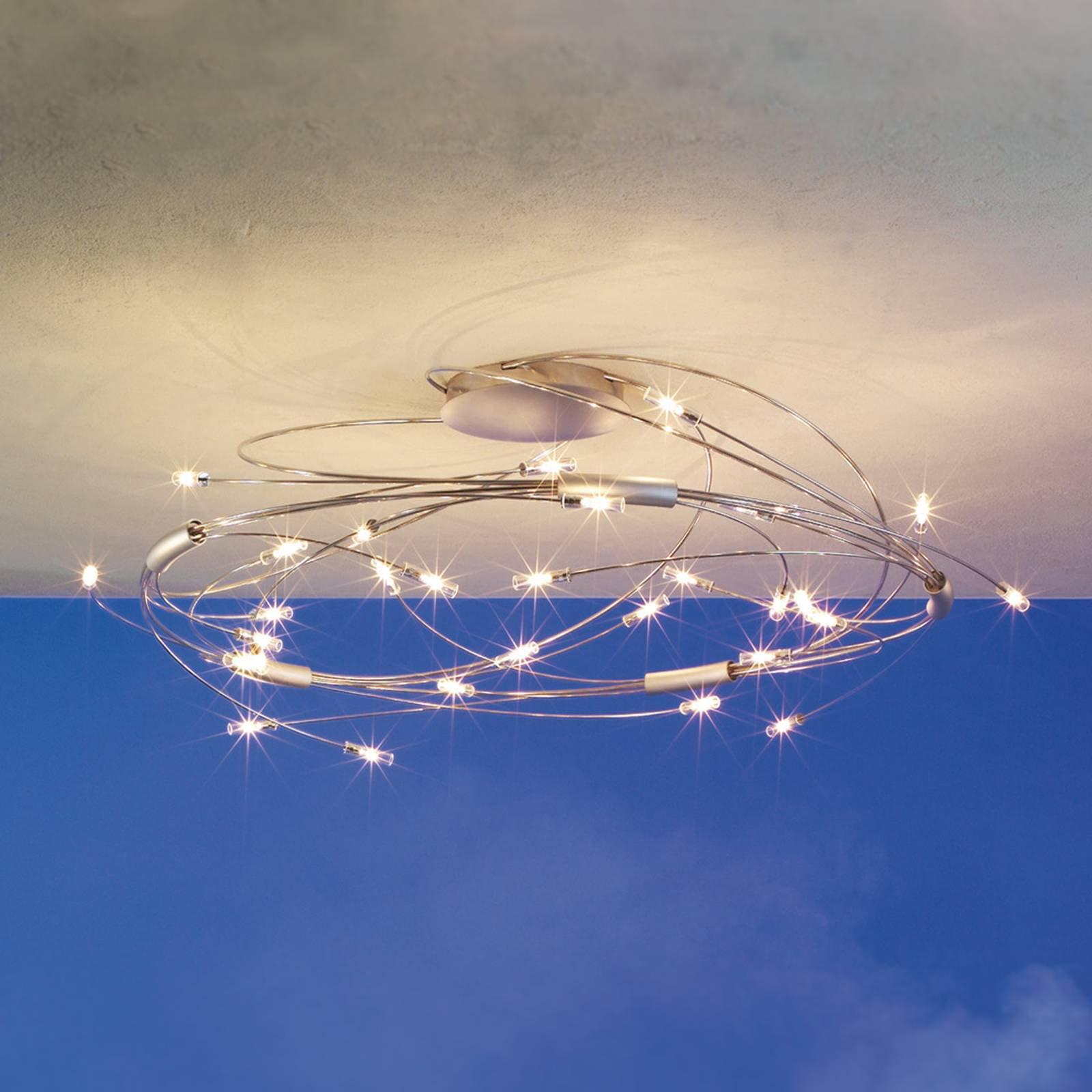 Spin taklampe med 30 lys