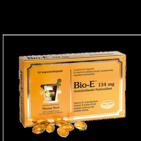 Bio-E 134 mg, 60 kapslar