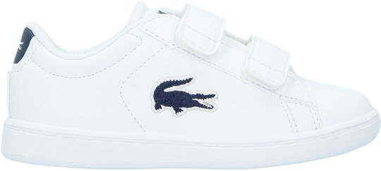 Lacoste Carnaby Evo 318 Sneaker, White/Navy 21