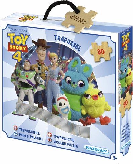 Kärnan Disney Toy Story 4 Puslespill i Tre 30 Biter