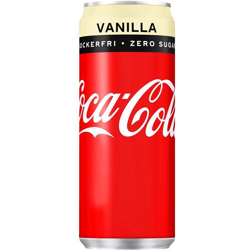 Coca Cola Zero Vanilj - 29% rabatt