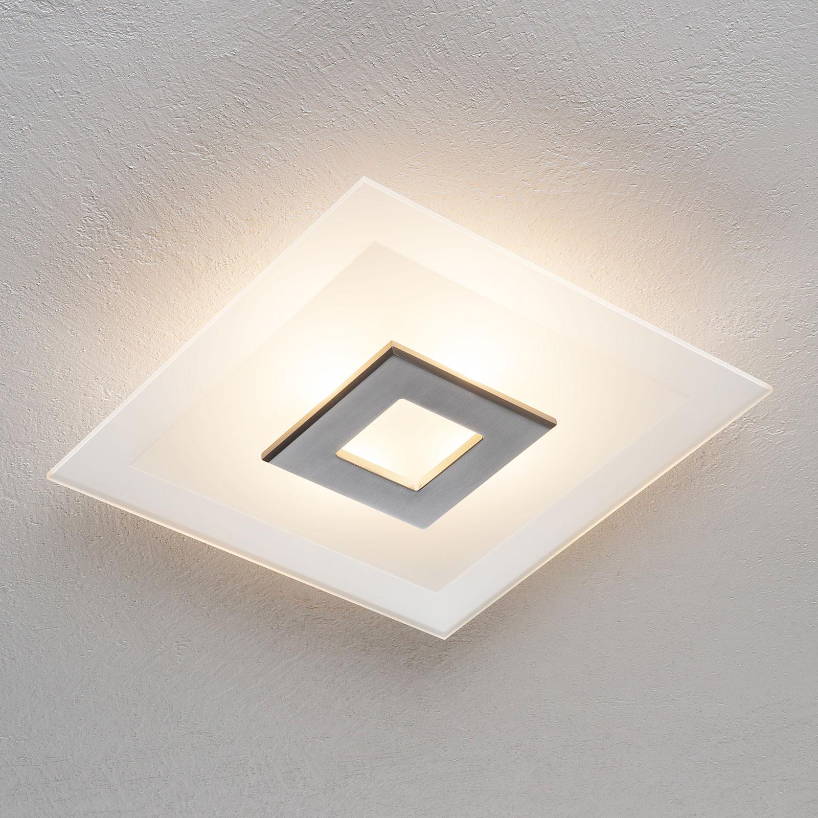LED-kattovalaisin Tian, lasivarjostin, 39 cm