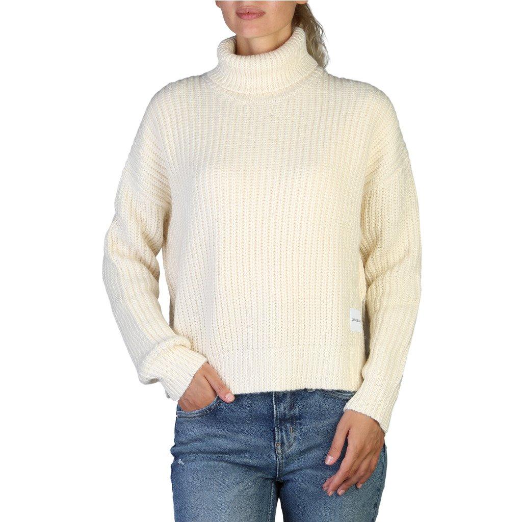 Calvin Klein Women's Sweaters White 349542 - white M