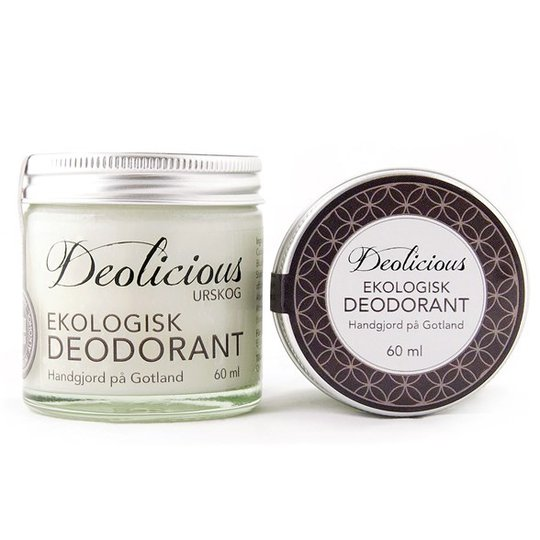 Deolicious Ekologisk Deodorant Urskog, 60 ml