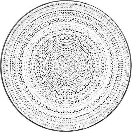 Kastehelmi Tallerken 31,5 cm Klar