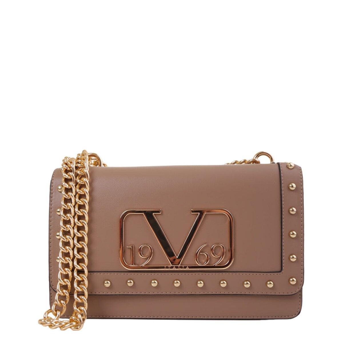 19v69 Italia Women's Shoulder Bag Various Colours 318683 - beige UNICA