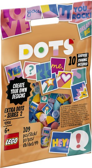 LEGO DOTS 41916 Extra DOTS – serie 2