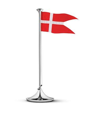 Georg Jensen Bursdagsflagg Danmark 39cm Rustfritt Stål