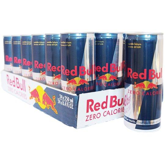 """Hel Låda Red Bull Energy """"Zero Calories"""" - 21% rabatt"""