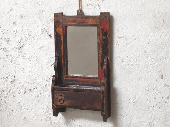 Small Black Wall Mirror
