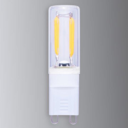 LED-nastakantalamppu G9 1,5 W 926 hiililangalla