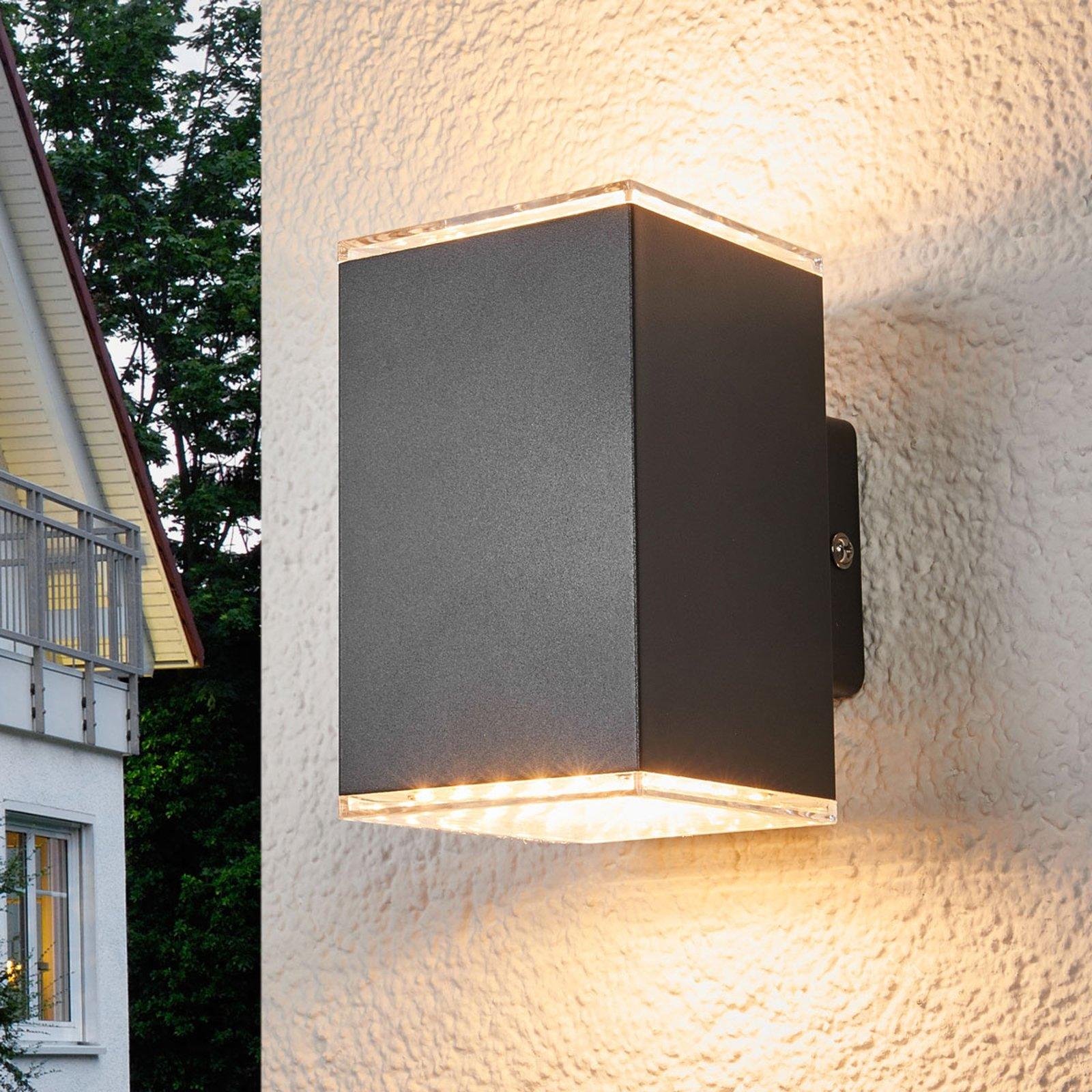 Lydia - LED-utevegglampe, 2 lys