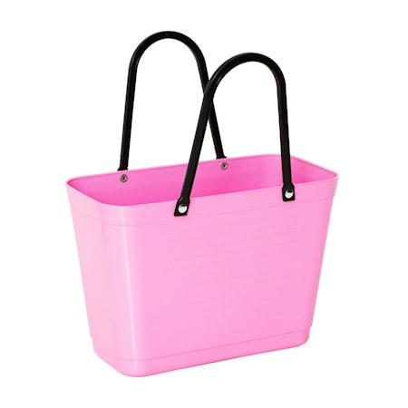 Väska Liten Green Plastic Rosa