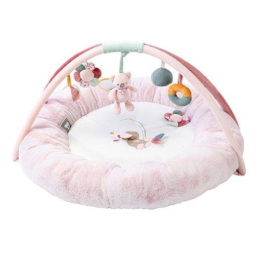 Nattou - Round Baby Activity Play Mat - Iris & Lali