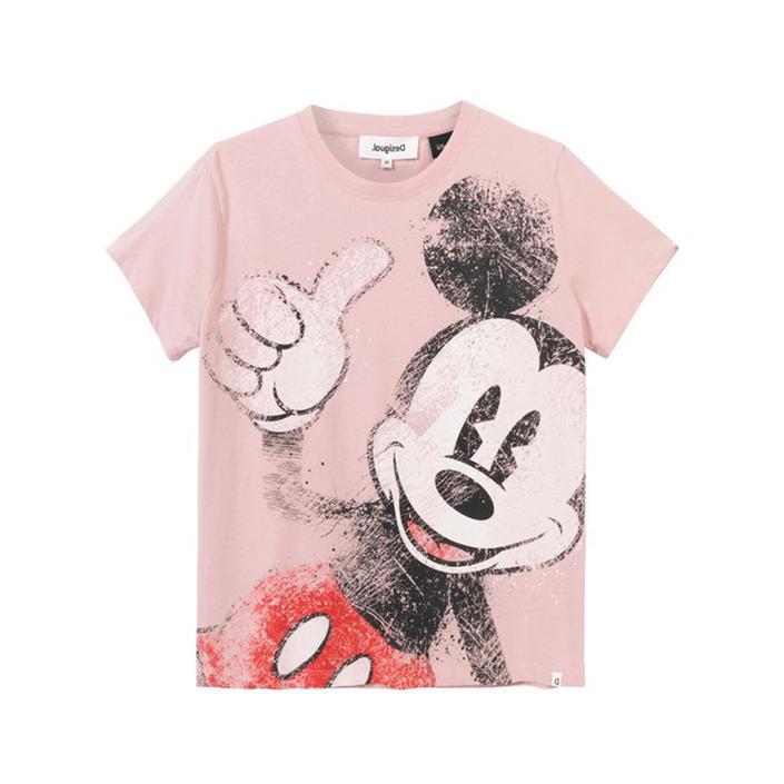 Desigual Women's T-Shirt Various Colours 203450 - pink S