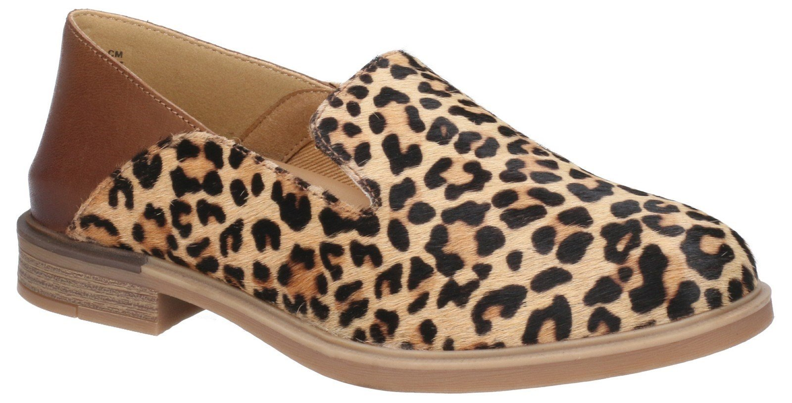 Hush Puppies Women's Bailey Bounce Slip On Flats Various Colours 29224 - Leopard Calf Hair 3