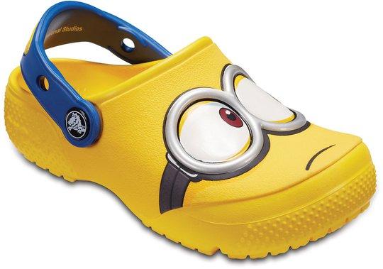Crocs Minions Fun Lab Clog, Yellow 19-20