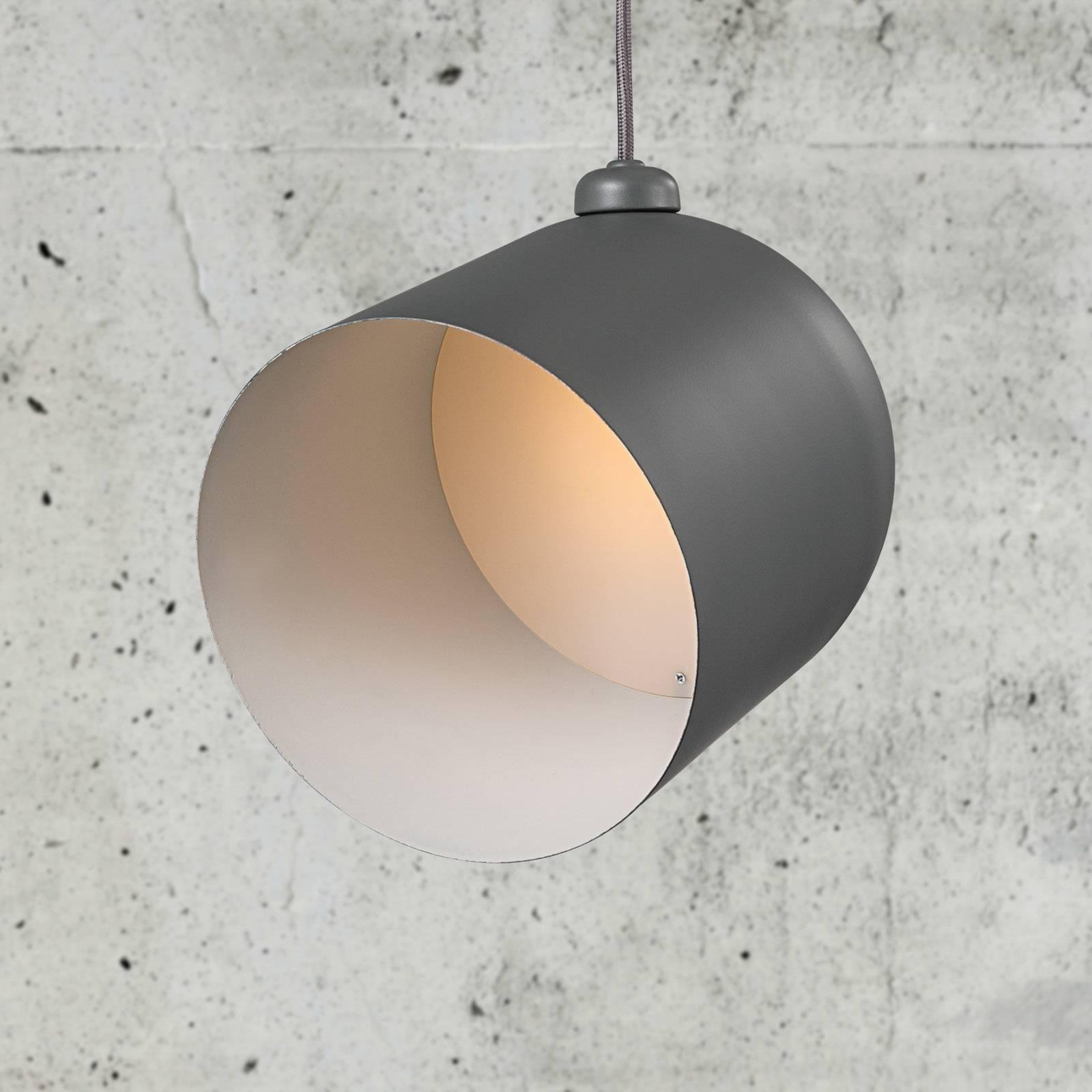 LED-riippuvalaisin Angle, harmaa