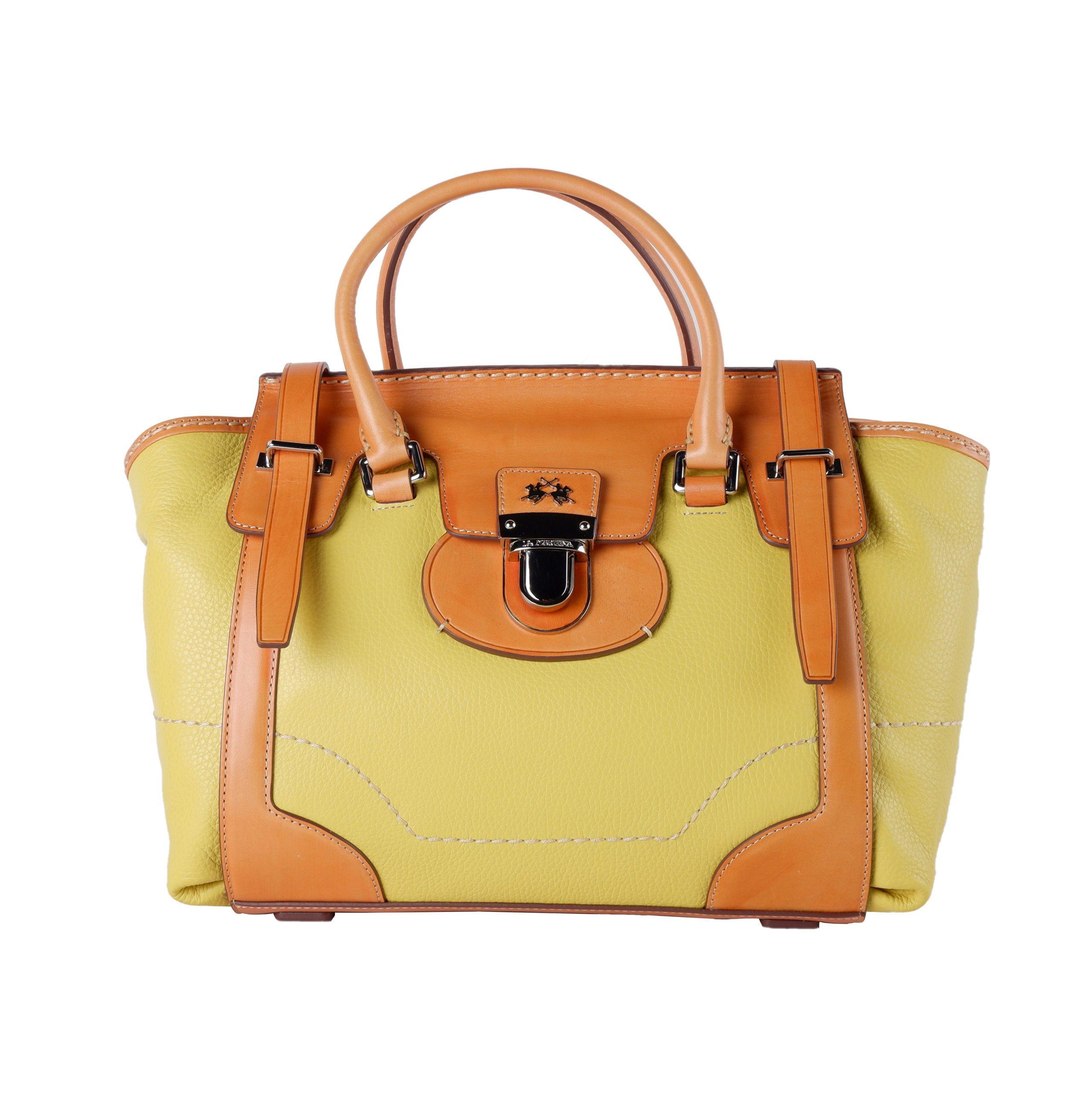 La Martina Women's Handbag Yellow LA1421221