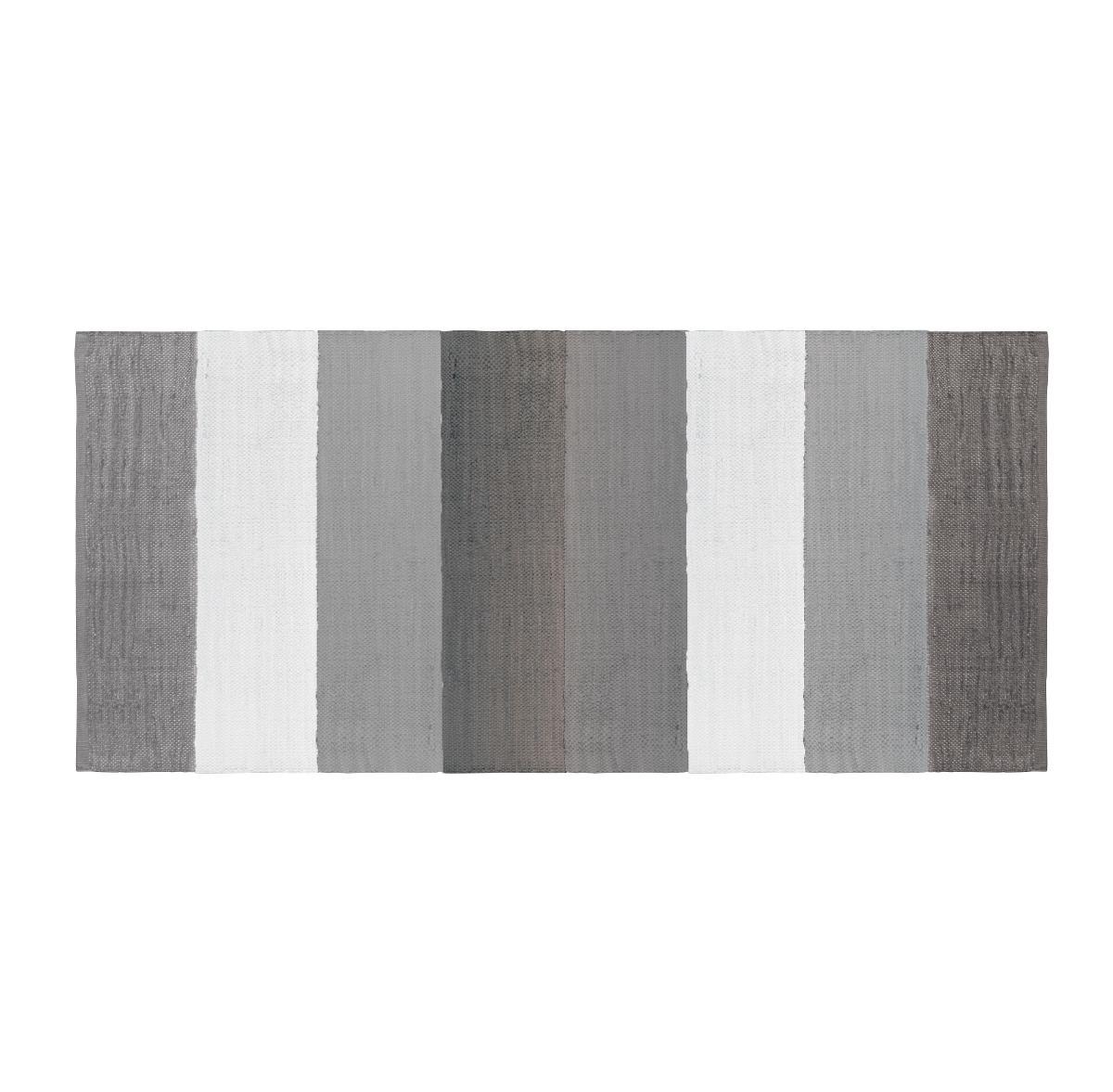 Vävd matta till barnrum grå, Sebra Interiör
