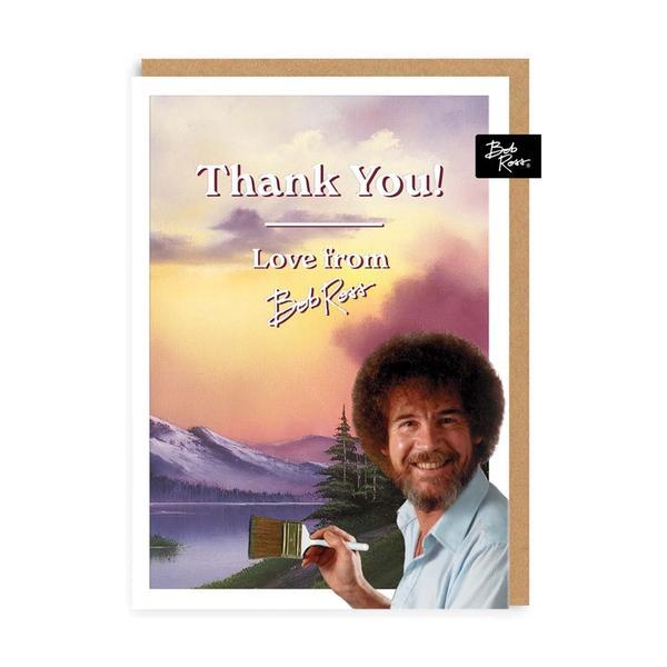 Sunset Mountain Thank you Greeting Card