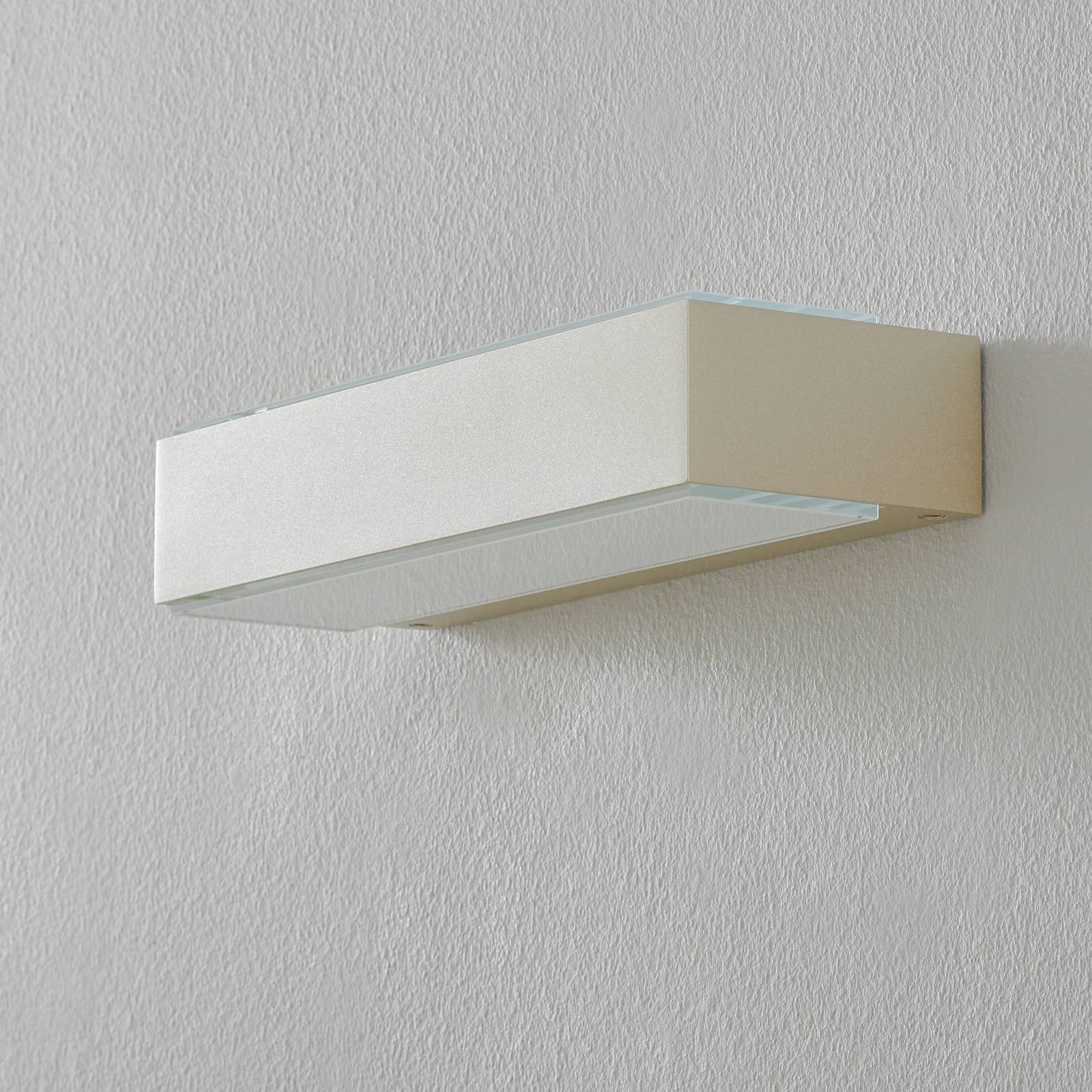 BEGA 12278 LED-seinävalaisin 3000K 30 cm palladium