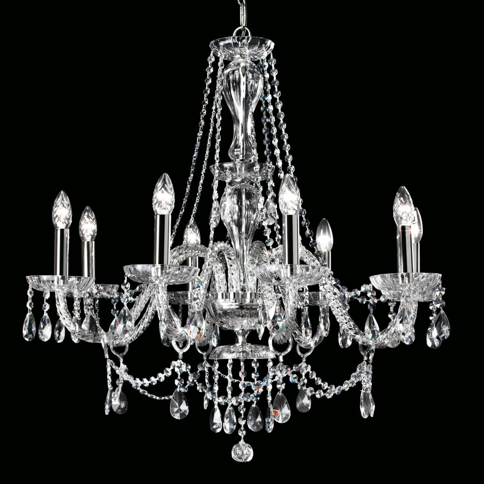 Kattokruunu Oldies But Goldies, kristalli, 8-lamp.