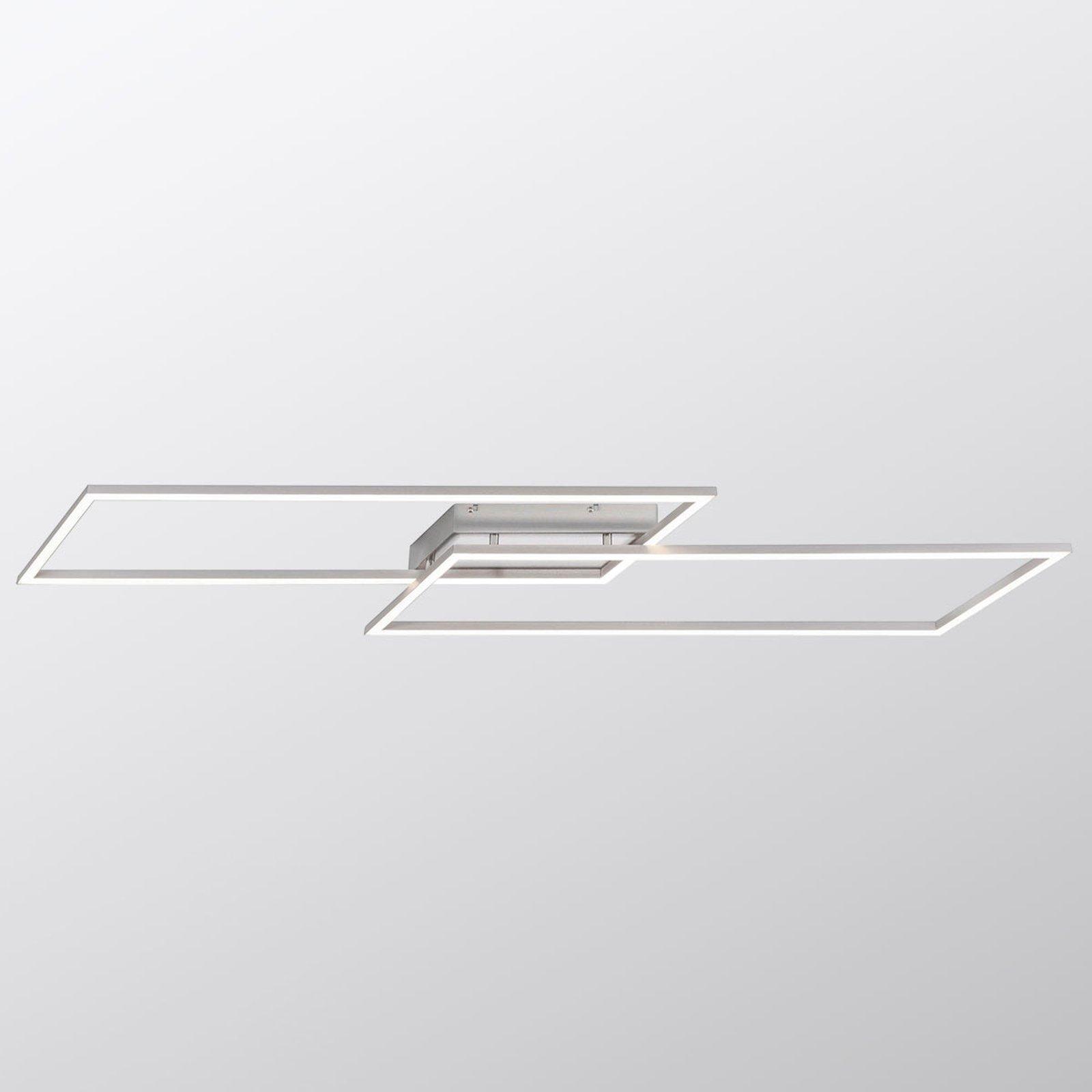 LED-taklampe Inigo med 2 lyskilder, lengde 113,2cm