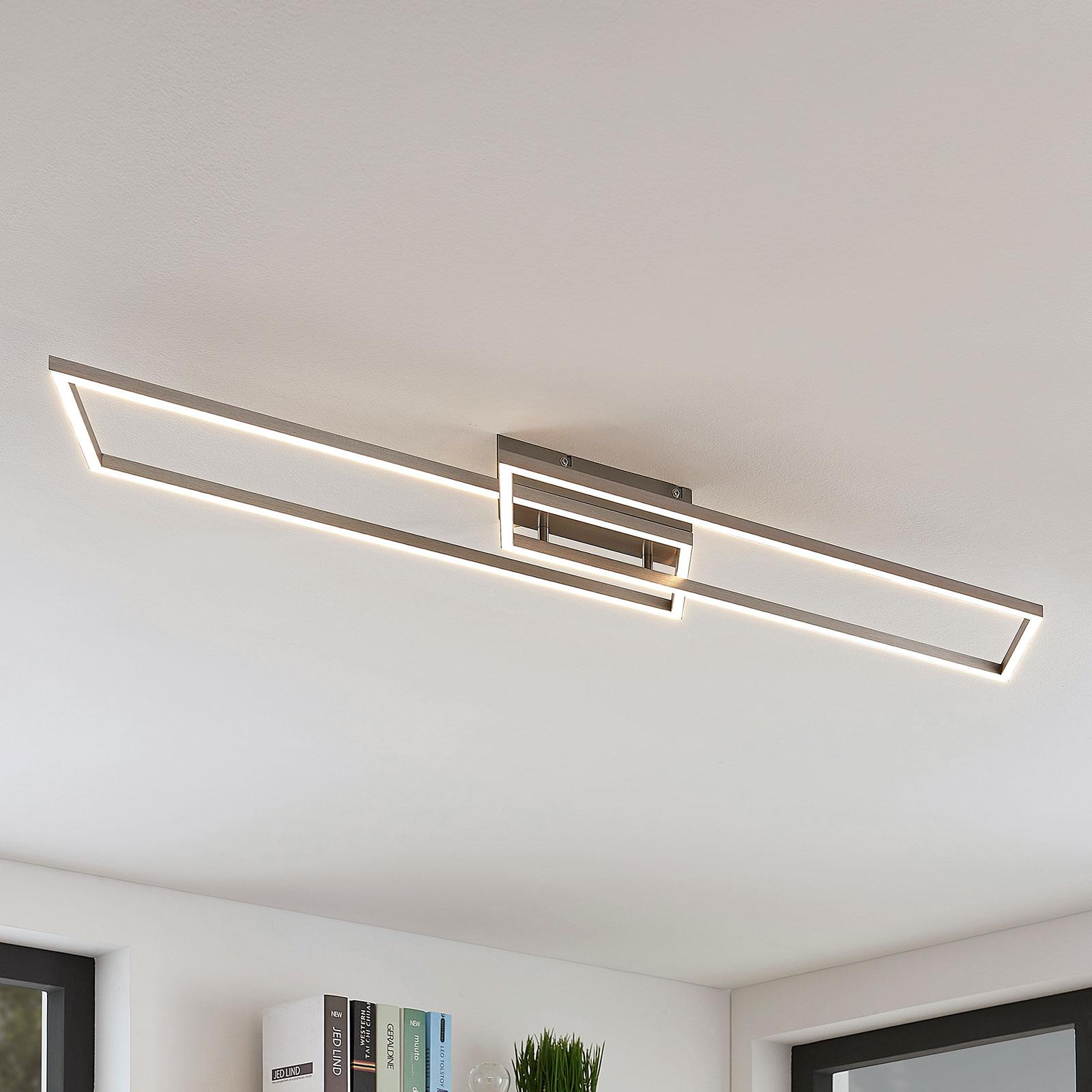 Suoralinjainen LED-kattovalaisin Quadra