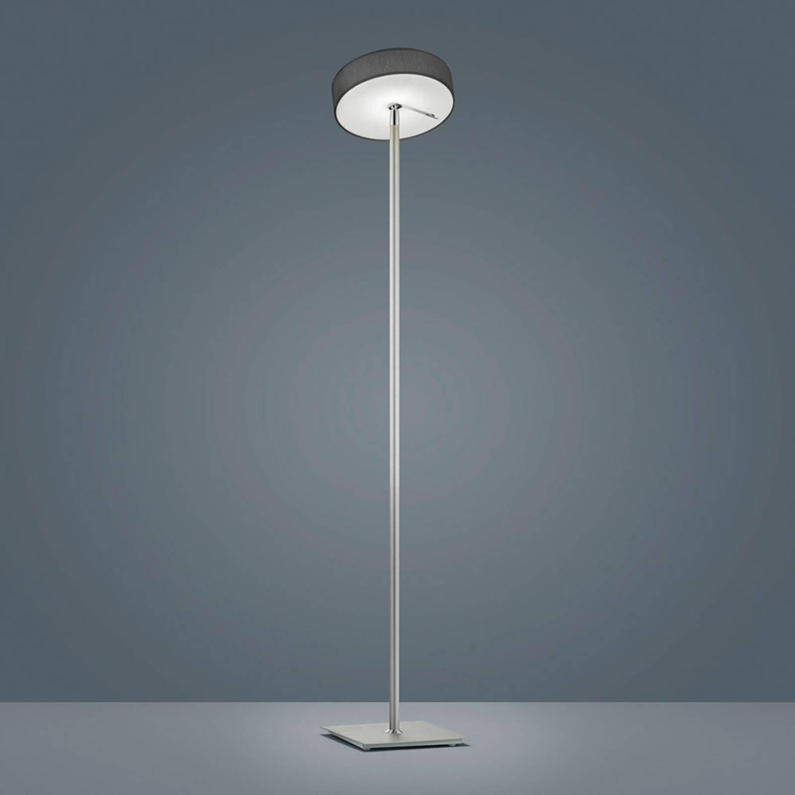 Helestra Bora LED-gulvlampe antrasittfarget skjerm