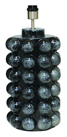 Bubbels Lampfot Black Marble 49 cm