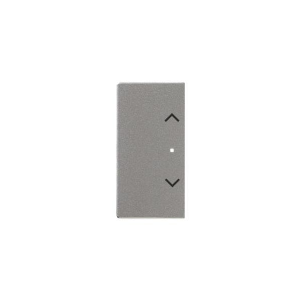 ABB Impressivo 6220-0-0159 Yksiosainen vipupainike verho, oikea/vasen Alumiini