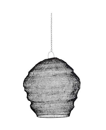 Lampeskjerm Ø 40 cm - Svart