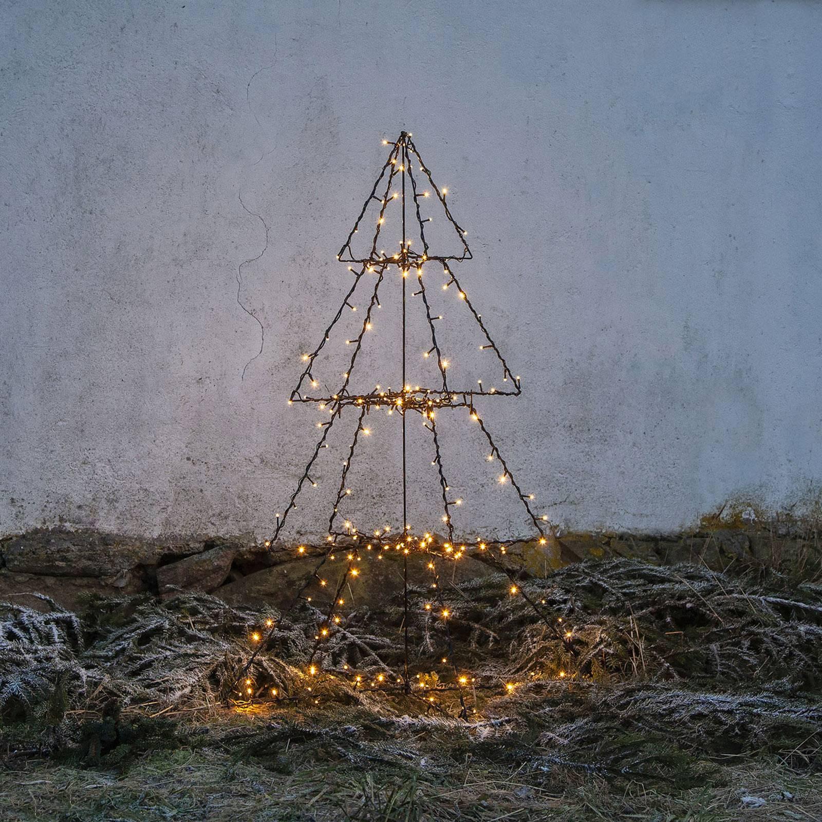 Light Tree Foldy -LED-ulkokoristevalo, 135 cm