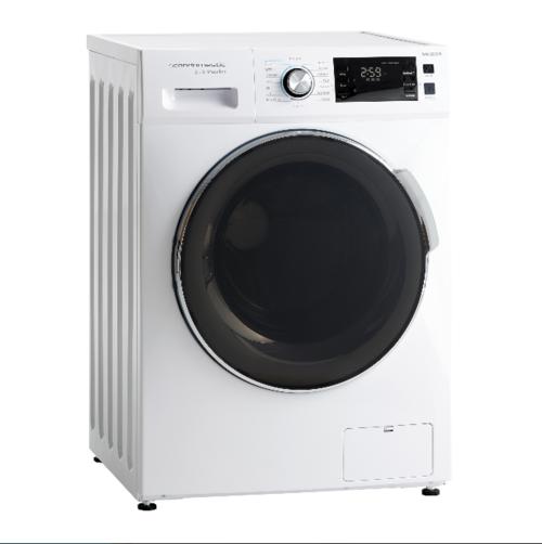 Scandomestic Wah2908w Tvättmaskin - Vit/glas
