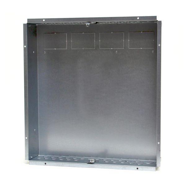 Garo NIL 60-3 Bunnkasse innfelt montering, metall, 20 moduler 3 x 20 moduler
