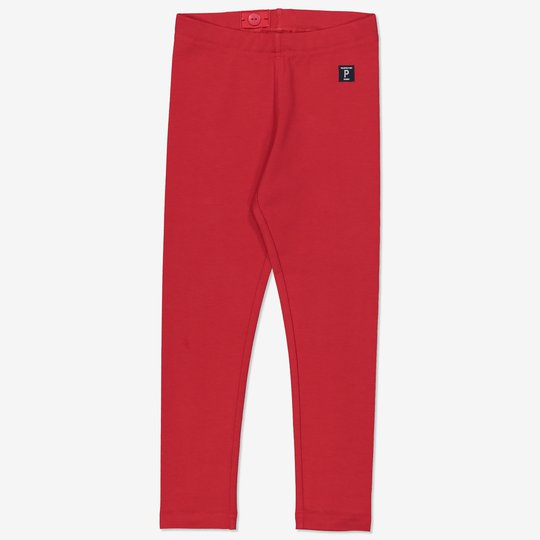 Ensfarget tights rød