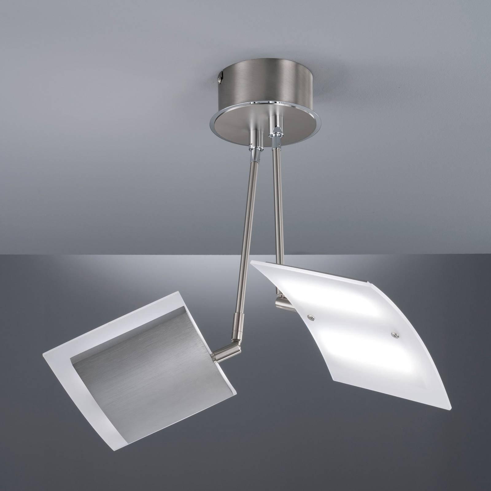 LED-taklampe Tours, med fjernkontroll