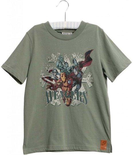 Marvel Wheat Avengers T-Shirt, Agave Green, 92